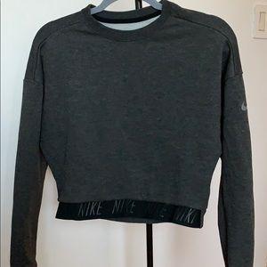 Nike crop top sweater